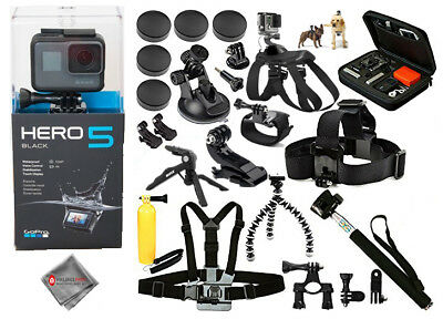 GoPro HERO5 Black ALL YOU NEED MEGA BUNDLE! Brand New!