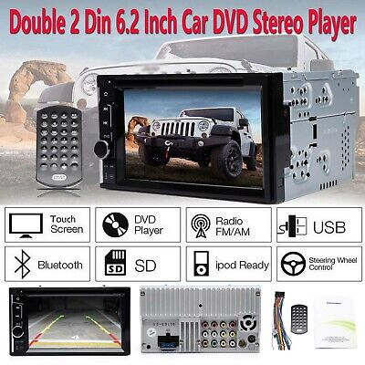 FIT Ford Digital Double DIN Car Stereo Radio DVD Player Bluetooth MP3 In dash