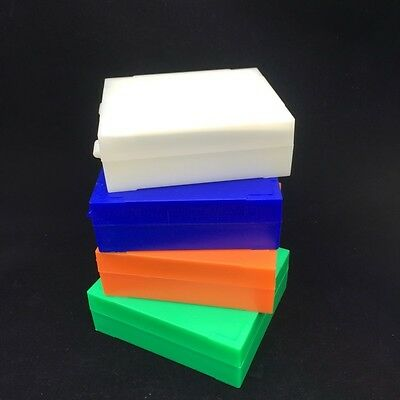 Lab Pathological Slides Storage Box Holder Case Plastic Microscope Slides Box