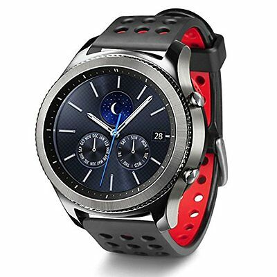 Smartwatch Silicone Strap for Samsung Gear S3 Frontier, Classic & MOTO 360, LG G