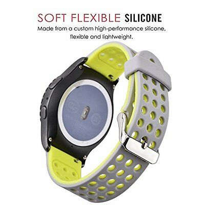Smartwatch Strap for Samsung Galaxy Gear 2 MOTO 360 2nd 46mm,Pebble and LG G NEW