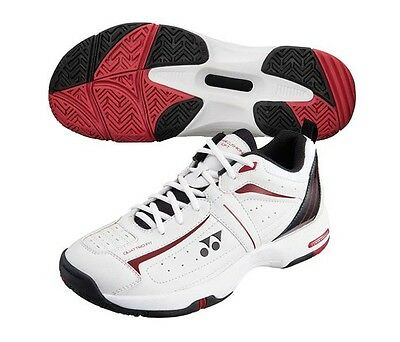 Yonex Mens SHT-SOFT Tennis Shoes - White/Black