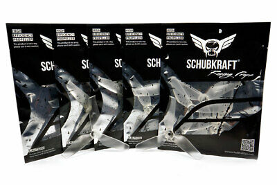 5 Sets x 5x4.2x3 SCHUBKRAFT WINGS 3-Blatt Racing Propeller 5042 - CrystalClear