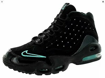 NEW Nike Men's Air Griffey Max II Training Shoes Black/Jade 442171-002 Size 8
