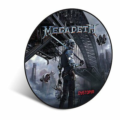 MEGADETH Dystopia Picture Disc Vinyl LP 2016 (11 Tracks) NEW & SEALED