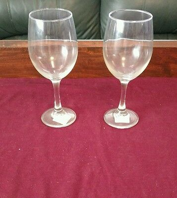 2 Libbey 3060 Perception Tall 20 Oz. Wine Glass