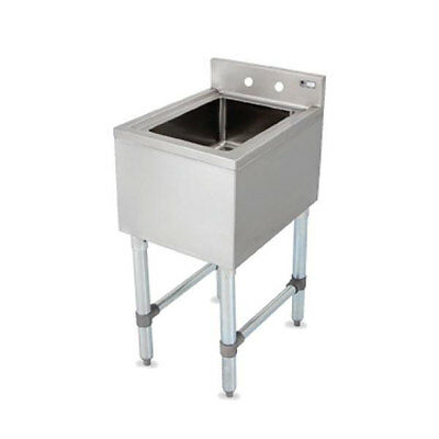 John Boos EUBDS-1014 Dump Sink 10in x 14in x 6in Bowl Stainless Steel