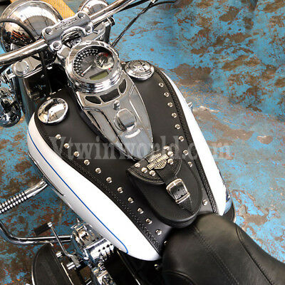 VBS HARLEY DAVIDSON SOFTAIL HERITAGE DELUXE LEATHER TANK Pad Panel Bib Cover
