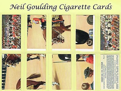 Ardath - Trooping The Colour (Sectional) 1939 #1 to #48 Cigarette Cards