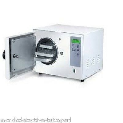 Autoclave 6 Litres Sterilises Instruments Not In Pack Class N Manometer
