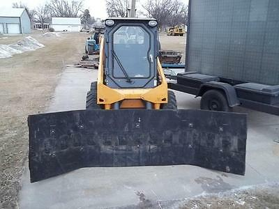 NEW 10 FT SNOW PUSHER PLOW EXTREME DUTY RUBBER BLADE (NT100014) (Make to Order)