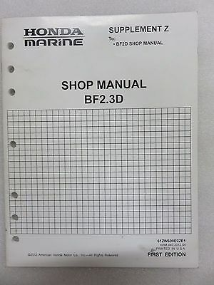 honda bf2 bf2 3 marine outboard service repair shop manual 43 95 rh picclick com Lockheed Bf 2 Bf 2 High Graphic