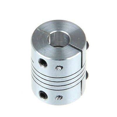2PCS 5mmx10mm CNC Motor 3D PrinterJaw Shaft Coupler 5mm-10mm Flexible Coupling S