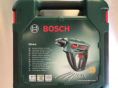 bosch uneo akkubohrhammer akkuschrauber 14 4 v li bohrmaschine schrauber hammer eur 66 00. Black Bedroom Furniture Sets. Home Design Ideas