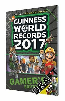 Guinness World Records 2017 Gamer's Edition - Paperback - NEW - Book