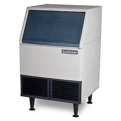 Scotsman Flake Ice Maker Machine 400Lb With Ice Bin Air Cooled - Afe424A-1