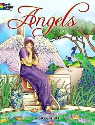 Angels Coloring Book Adult Dover Designs Patterns Creative Stress Relieving NEW
