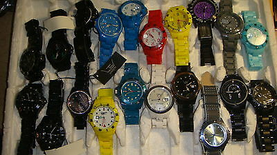 Trade Only Job Lot Of 20 X  Mixed  Ltd  Watches 100% Gen .