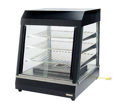 "Hebvest HD36HT 36"" Countertop Electric Heated Display Case"