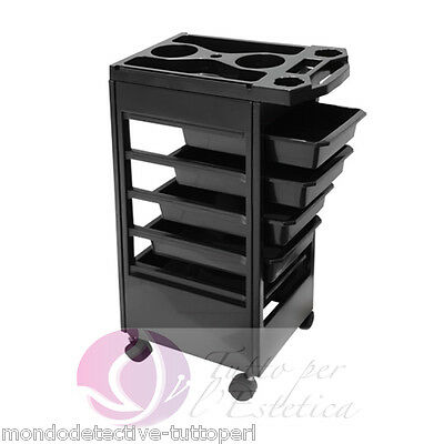 Cart Holder Accessories With Wheels Hairdresser Salons Di Bellezza Hair