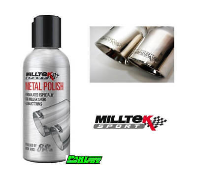 Ford Focus ST RS Fiesta Mustang Mondeo MILLTEK Exhaust Metal Cleaning Polish ...