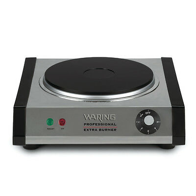 Waring Commercial Single Burner Hot Plate Cast Iron 120V - Web300