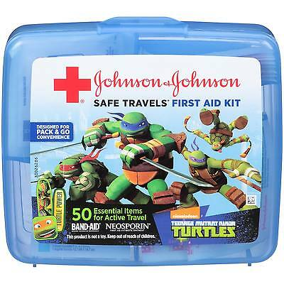 J&J Safe Travels First Aid Kit w/ Nickelodeon Teenage Mutant Ninja Turtles