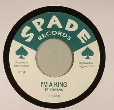 "ETHIOPIANS/RANNY WILLIAMS & THE HIPPY BOYS - I'm A King - Vinyl (7"")"