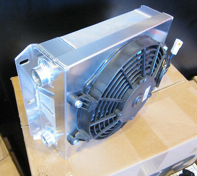 "Cbr Performance Cooling Products Small Off-Road Oil Cooler -10Jic W/ 9"" Spal Fan"