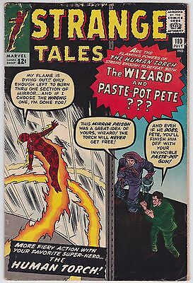 Strange Tales #110 G 2.0 Human Torch First Appearance Of Doctor Strange!