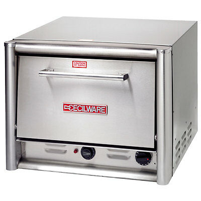 """GMCW PO18 Pizza Oven Counter Top Electric 2 Decks - Fits 16"""" Pizza"""