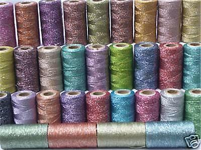 35 Metallic Embroidery Spools, 35 different Colours, High Quality, Wholesale