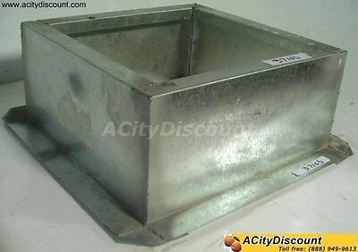 Pitched Roof Curb For Breidert Exhaust Fan - Pitched Exhaust Curb