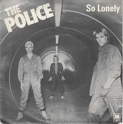 "So Lonely/No Time This Time 7"" : The Police"