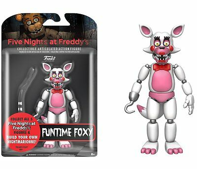 FNAF Five Nights At Freddy's FUNTIME FOXY Articulated Action Figure New