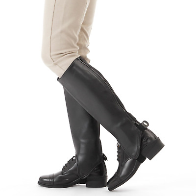 Shires Childrens Synthetic Gaiters: Black: Large
