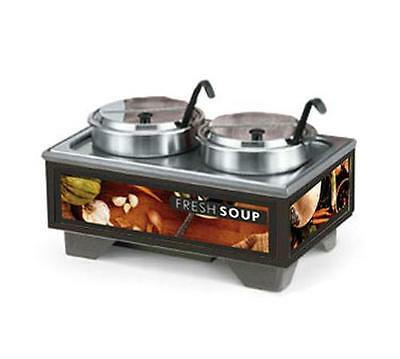 Vollrath 72020200* Countertop Soup Merchandiser with 7 Qt Accessory Pack