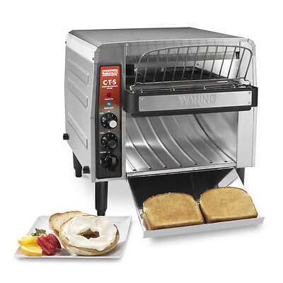 Waring Electric Conveyor Toaster Oven 1000 Slices Per Hour - Cts1000B
