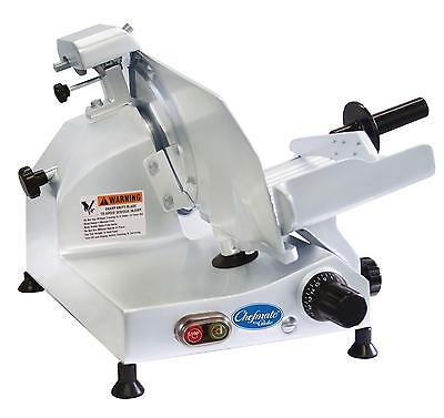 "Globe C9 9"" Chefmate Electric Manual Food Slicer Light Duty .25 HP"