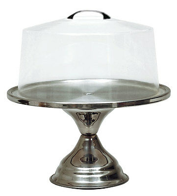 Update 13In Stainless Steel Cake Stand Mirror Finish - Cs-13