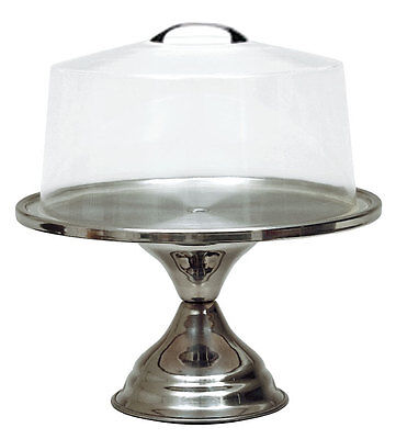 Update CS-13 13in Stainless Steel Cake Stand Mirror Finish
