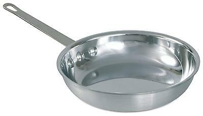 Crestware FRY08 Polished Aluminum 8.5in Fry Pan w/ Handle
