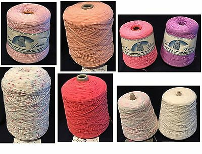 8 Cones 3 Mary Lue's 3 Ply 3 Nomi Lee 2 Ply & 2 Diamante Tamm About 9 Pounds