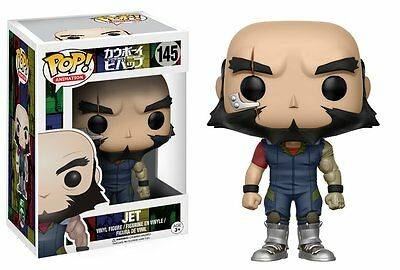 *NEW* Cowboy Bebop: #145 Jet POP Vinyl Figure by Funko