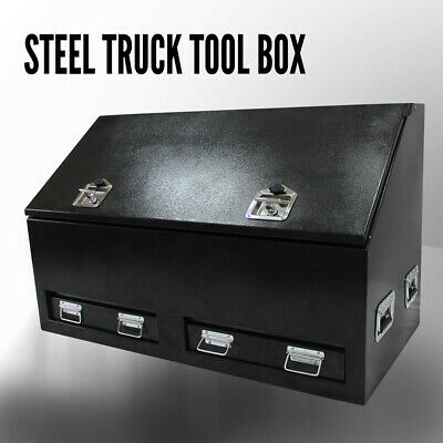 1210x600x750mm Steel Tool Box UTE Truck Toolbox Heavy Duty 2 Drawers