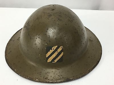 WWI US Army 3rd Infantry Division Helmet