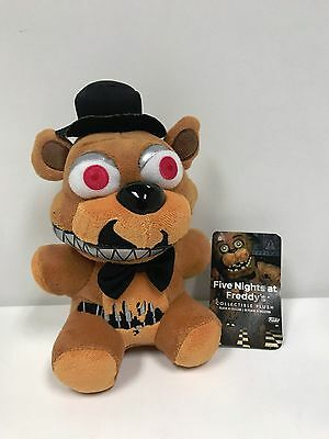 "FNAF Five Nights At Freddys Nightmare  Freddy 6"" Plush Funko Licensed New"
