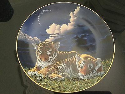 Franklin Mint  IN MOTHER'S ARMS Plate