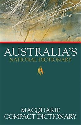 Macquarie Compact Dictionary by Macquarie Dictionary - Paperback - NEW - Book