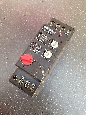 Brodersen UNIC Time Delay Relay Switch On Off Electric Standard
